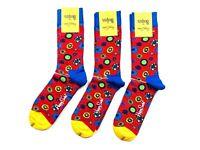 Happy Socks The Beatles Flower Power Socken Gr. 41-46 Herren NEU 1 - 6 Paare