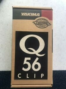 Yakima Q56 clips - New in box - for Q towers - Ford Mustang Coupe 94-03