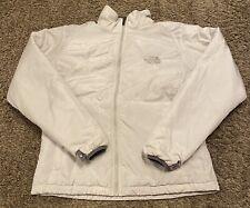 The North Face Women's Beige Full Zip Puffer Winter Jacket Size Medium