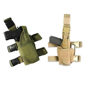 Adjustable Tactical Leg Holster Airsoft Drop Pistol Leg Holster Belt Leg Holster
