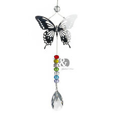Window Rainbow Handmade Butterfly Suncatcher Crystal Prisms Ball garden Decor