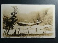 Postcard - RPPC Real Photo - Iceberg Lake Glacier National Park - Hileman