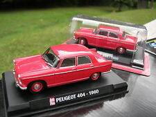 1/43 PEUGEOT 404 1960 Rouge !!!!!