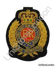 Badge Royal Engineers Blazer Badge Gold Embroidery R616