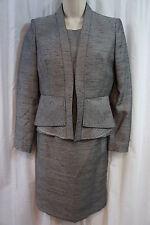 "Kasper Petite Jacket Dress Sz 2P Black Multi ""Rose Gardens"" Business dress"