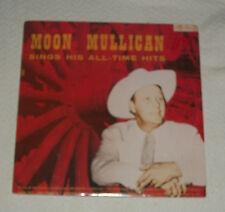VTG MOON MOONSHINE MULLICAN MULLIGAN 33LP RECORD ALBUM KING HILLBILLY ROCKABILLY