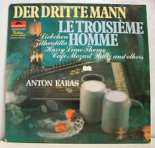 "33T ANTON KARAS Disque LP 12"" LE TROISIEME HOMME Guitare Special POLYDOR 2482243"