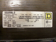 Square D Industrial Control Transformer 9070 Series A Type Kf750D1