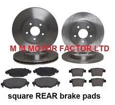 For Jaguar X-Type  2000-  1.8, 2.0, 2.2 & 2.5 Front & Rear Brake Discs & Pads