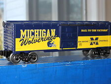 "2007 Lionel 6-39291 University Of Michigan Wolverines ""U Of M"" Box Car New L0601"