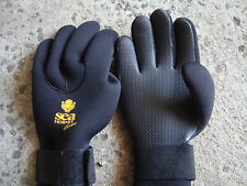 Scuba Diving Gloves Gauntlet 3mm black Sea Hornet, size: X-Small (XSML)