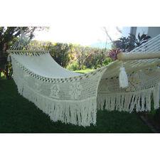 Barar de Hamaca Colgante Lazy Rest Colección Princess-2 Con Crochet Adornos