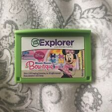 DISNEY MINNIE MOUSE Learning Game Leappad 2