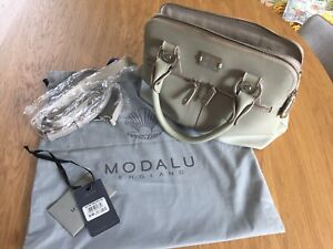 Modalu Grey Pippa Small Grab Bag