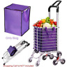 Shopping Trolley Bag Portable Folable Tote Bag  Cart Grocery Bag Wheels Rolling