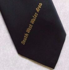 SOUTH WEST WALES AREA TIE VINTAGE RETRO COMPANY CLUB ASSOCIATION SOCIETY 1980s