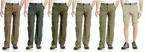 WHITE SIERRA MENS X9702M 30 IN INSEAM TRAIL CONVERTIBLE CARGO TRAVEL HIKING PANT