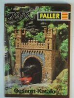 FALLER  Modellbahn Hobby Gesamt Katalog 79/80 B-15176