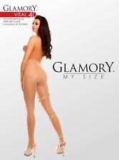 Glamory Stützstrumpfhose Vital 40 - 40den - Gr. 40/42 bis 60/62