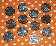 Lotto 12 Monete - 100 LIRE - ACCADEMIA NAVALE LIVORNO CENTENARIO - ITALIA 1981