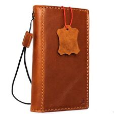 genuine real leather Case for apple iphone 7 book wallet cover slim Art luxury R