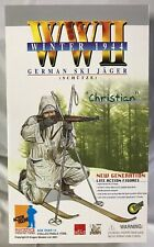 """Dragon Action Figure ~ WWII 1944 German Ski Jager """"Christian""""  NEW IN BOX"""