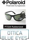Occhiali da Sole POLAROID Polarized Sunglasses P7334A BLACK 9ca Sonnenbrille GUM
