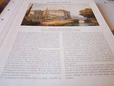 Düsseldorf Archiv 2 2062 Wohnung Graf von der Goeben 1842 J N C Scheuren 1842
