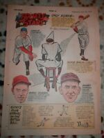Philadelphia April 30 1950 Newspaper Mirth Quakers Corn Crib Sports stars Comics