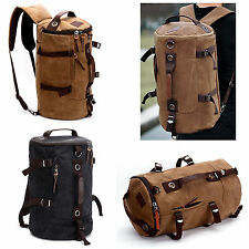 Canvas Backpack Retro Bags for Men