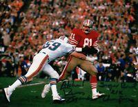 "Russ Francis Signed Autographed 8X10 Photo  ""Super Bowl XIX Champs"" 49ers w/COA"