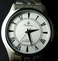 Burgmeister silber-silber Edelstahl Herren Armbanduhr BM401 -111 **NEU** watch