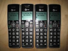 Lot of 4 At&T Cl82413 1.9 Ghz Cordless Expansion Handset Phone