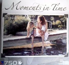 """Moments in Time """"Touching Surface""""  750 piece jigsaw puzzle 23.5"""" x 15.5"""""""