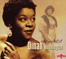 Dinah Washington - Unforgettable: The Very Best of.. (2004)  CD  NEW  SPEEDYPOST