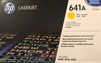 HP 641A (C9722A) Yellow Original Toner Cartridge - new sealed in box