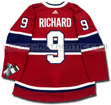 MAURICE RICHARD MONTREAL CANADIENS HOME AUTHENTIC PRO ADIDAS NHL JERSEY