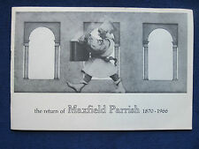 THE RETURN OF MAXFIELD PARRISH Exhibition Catalogue - 1st Edition