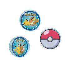 Pokemon Classic Bounce Balls (4) ~ Birthday Party Supplies Favors Rewards Toys