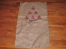 """Vintage Archery Burlap Target Bag or Target Face 40"""" X 22"""" Lot of #1"""