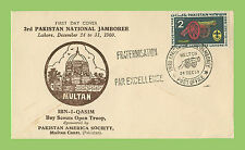 Pakistan 1960 3rd National Jamboree Scout First Day Cover, (American Soc.)