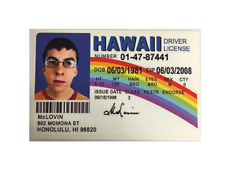 STICKER McLOVIN LICENSE BUMPER STICKER FREE POST MOVIE POSTER SUPERBAD