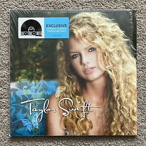 Taylor Swift Record Store Day RSD Clear Turquoise Vinyl Rare