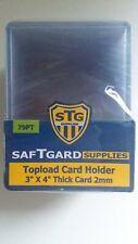 SafTgard Acrylic Baseball /& Card Holder NIP #AB02 7 1//4 x 3 1//4 x 3 3//4
