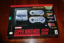 SUPER NES NINTENDO CLASSIC EDITION MINT SEALED NEW OKLAHOMA TOYS R US PERFECT!