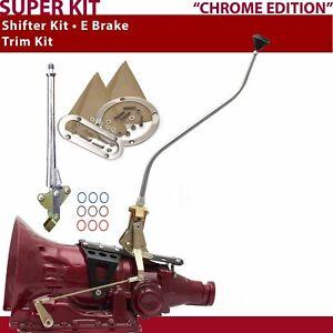 TH350 Shifter Kit 23 Swan E Brake Trim Kit For D2F7C