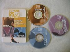 Mari Winsor Pilates Basic 3 Workout Dvds 20 Minute Exercise Fitness Free Ship