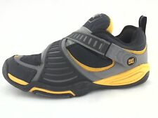 DC Shoe Company Signature Skateboard Sneakers Gray/Yellow Men's US 13 EU 47 RARE