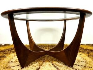 Early Original Mid Century Teak Astro Coffee Table G Plan V B Wilkins Refinished