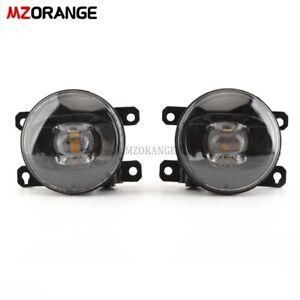 Black LED Fog Light Lamp For Land Rover Discovery Freelander 2 Range Rover Sport